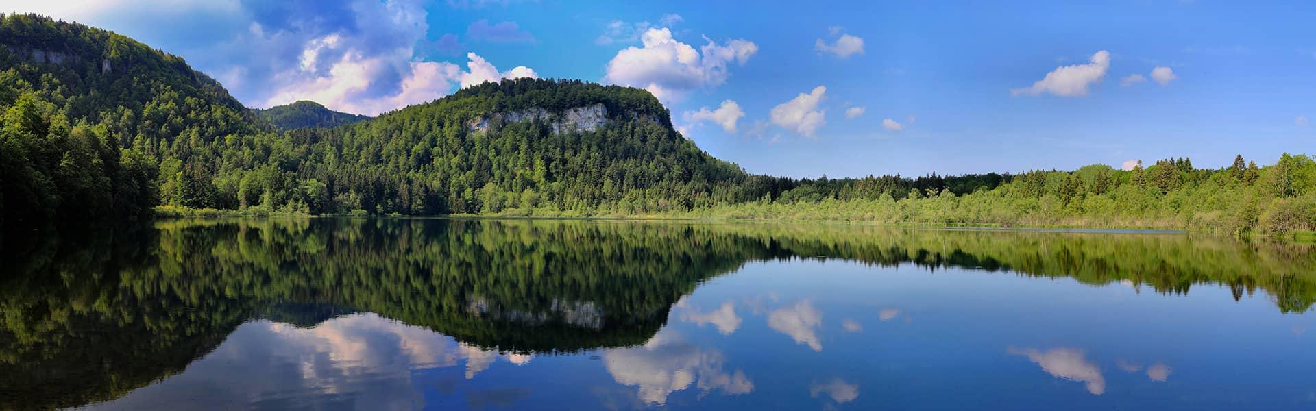 paysage de lac Jura - Otentik séminaire Voyage scolaire