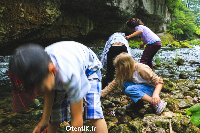 Classe découverte rivière