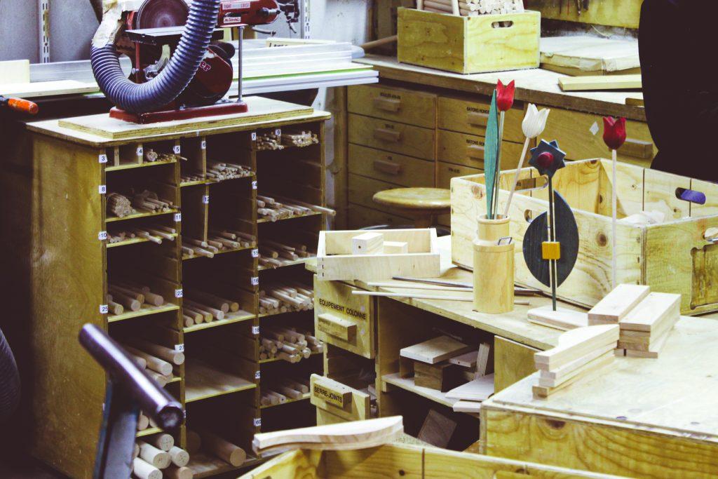 jouets en bois sauge