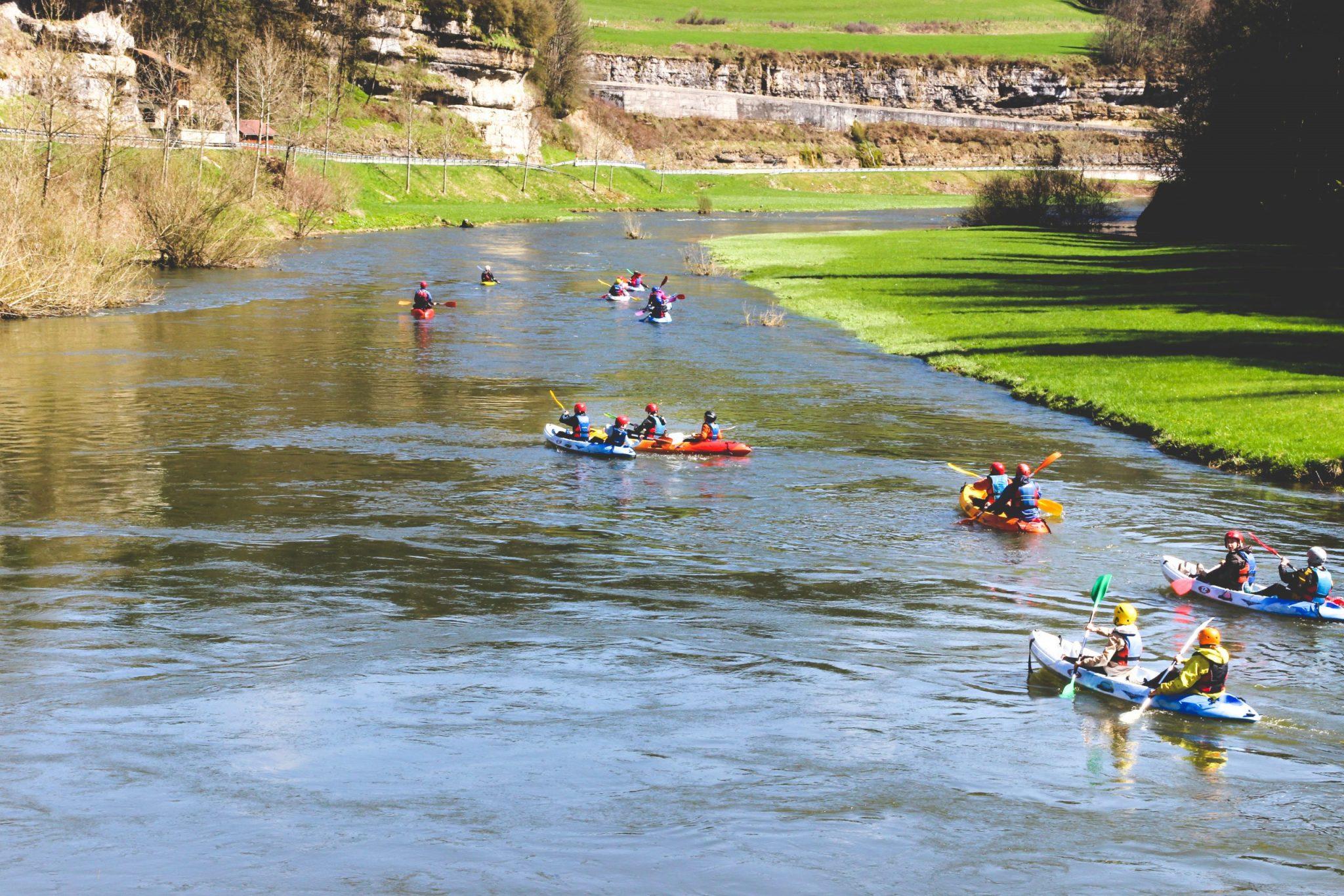 descente en kayak classe verte