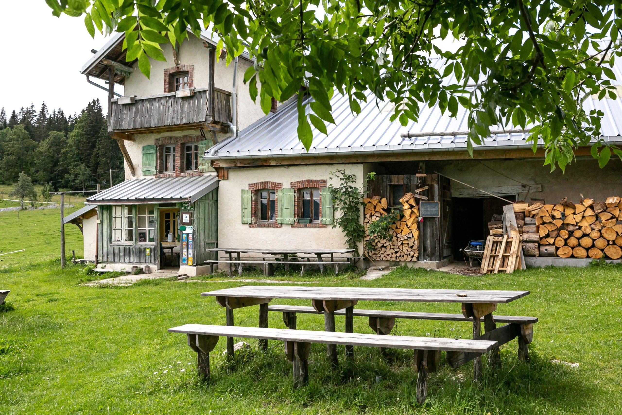 Chalet Alpage Mont 'Dor Jura Otentik